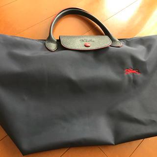 LONGCHAMP - 美品★ ロンシャン 70周年限定プリアージュ ネイビー