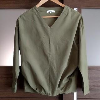 オゾック(OZOC)のOZOC カーキシャツ(シャツ/ブラウス(長袖/七分))