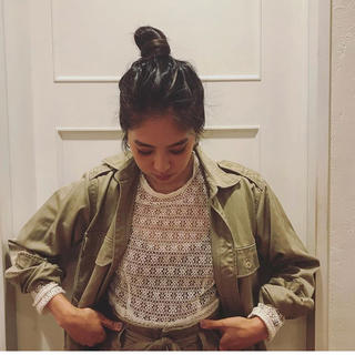 ファビアンルー(Fabiane Roux)のnowos新品チノシャツジャケット(ミリタリージャケット)