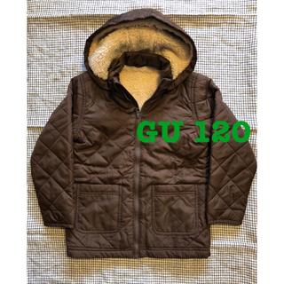 ジーユー(GU)のGU キルティングジャケット 120(ジャケット/上着)