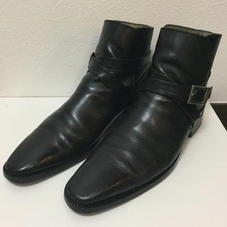 バーバリーブラックレーベル(BURBERRY BLACK LABEL)のバーバリー ブラックレーベル ブーツ 27センチ アウトソール交換済(ブーツ)