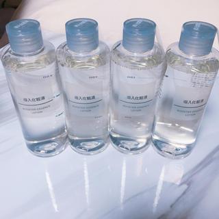 ムジルシリョウヒン(MUJI (無印良品))の無印良品 導入液 4本セット(ブースター / 導入液)