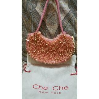 チチニューヨーク(Che Che New York)のチチニューヨーク Che Che New York ハンドバック/保存袋付き(ハンドバッグ)