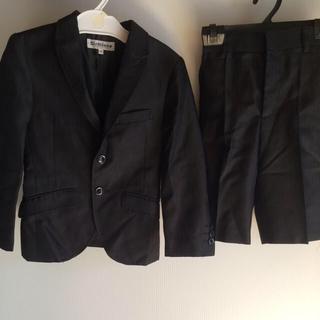 シマムラ(しまむら)の子供用ストライプスーツ(ワイシャツ、ネクタイセット)(ドレス/フォーマル)