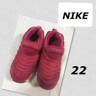 ナイキ(NIKE)のナイキ NIKE ダイナモ スニーカー シューズ 22センチ ピンク(スニーカー)