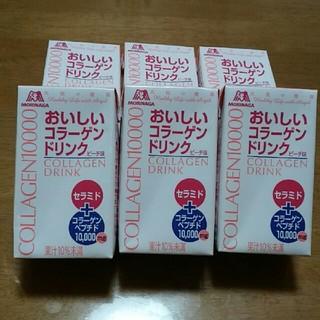 モリナガセイカ(森永製菓)の森永製菓 天使の健康 おいしいコラーゲンドリンク ピーチ味 6本セット(コラーゲン)