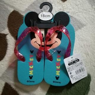 ディズニー(Disney)の新品 18センチ ビーチサンダル(サンダル)
