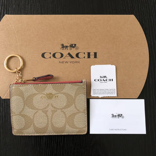 コーチ(COACH)のコーチ パスケース コインケース ハワイ COACH F16107 カードケース(コインケース)