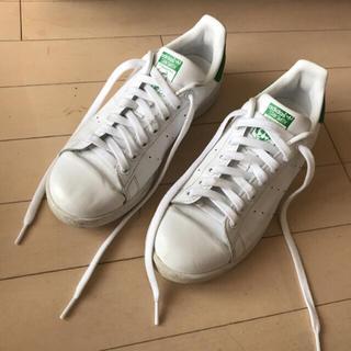 アディダス(adidas)の美品!アディダス adidas スタンスミス スニーカー 24.5 コンバース (スニーカー)