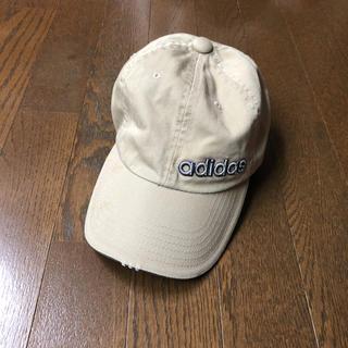 アディダス(adidas)のお値下げ☆アディダス♡ キャップ   ベージュ(キャップ)