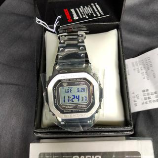 ジーショック(G-SHOCK)のGMW-B5000D-1JF G-SHOCK シルバー 新品(腕時計(デジタル))
