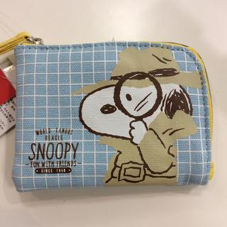 スヌーピー(SNOOPY)のスヌーピー パス付き コインケース(コインケース)