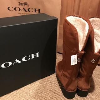 コーチ(COACH)の売り切れ☆コーチ ムートン ブーツ COACH(ブーツ)
