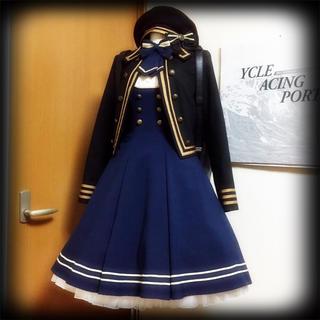 大人気廃盤品 EXCENTRIQUE 17SP Cadetジャケット 黒(ミリタリージャケット)