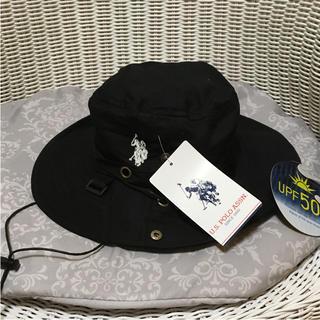 ラルフローレン(Ralph Lauren)のポロ ラルフローレン好きに アドベンチャーハット 登山帽子 黒 ブラック 新品(ハット)