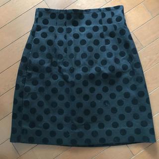 ルシェルブルー(LE CIEL BLEU)のルシェルブルー  ドット スカート(ひざ丈スカート)