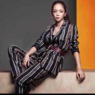 エイチアンドエム(H&M)の安室奈美恵 H&Mコラボ ストライプジャケット(テーラードジャケット)