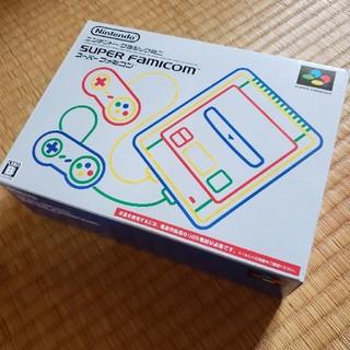 ニンテンドウ(任天堂)のスーパーファミコン ニンテンドークラシックミニ ほぼ未使用(家庭用ゲーム本体)
