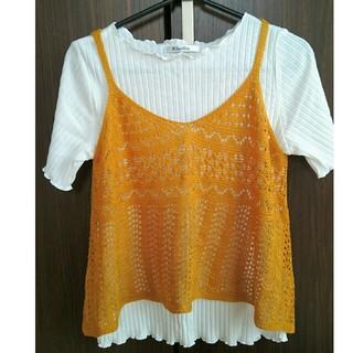 シマムラ(しまむら)のトップス Mサイズ(Tシャツ(半袖/袖なし))