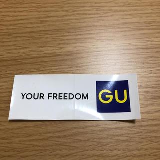 ジーユー(GU)のGU ステッカー(その他)