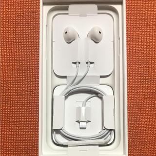 アップル(Apple)のiPhone8 イヤホン 正規品(ヘッドフォン/イヤフォン)