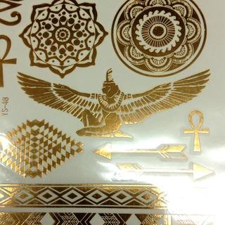 フラッシュ タトゥー シール エジプト ゴールド(その他)