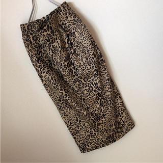 ディーホリック(dholic)のレオパードスカート 新品 (ロングスカート)