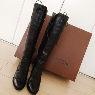 ルイヴィトン(LOUIS VUITTON)の超美品!!LOUIS VUITTONブーツ (ブーツ)