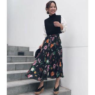アメリヴィンテージ(Ameri VINTAGE)のAMERI vintage ココフラワースカート (ロングスカート)