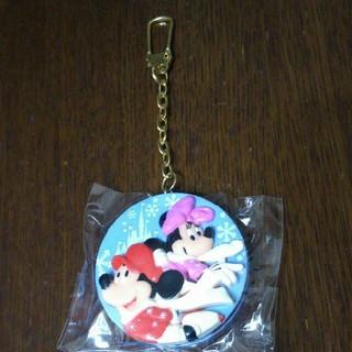 ディズニー(Disney)のディズニーリゾート☆クリスマスファンタジー2002ミッキー&ミニー☆キーホルダー(キーホルダー)