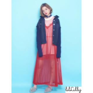 リルリリー(lilLilly)のリルリリー キャミワンピ♡(ロングワンピース/マキシワンピース)