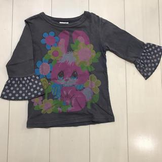 バナバナ 七分袖 シャツ 120