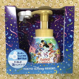ディズニー(Disney)のディズニー 35周年 ミッキー   泡ハンドソープ  ビオレU(ボディソープ / 石鹸)