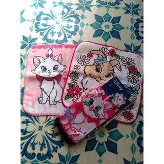 ディズニー(Disney)のディズニー マリーちゃんハンカチ&靴下set(靴下/タイツ)