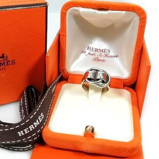 エルメス(Hermes)の希少 エルメス リング 指輪 シルバードゥザノーE31(リング(指輪))