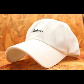 ディッキーズ(Dickies)のDICKIES DK7‐8 帽子・キャップ メンズ レディース 白(キャップ)