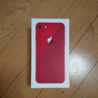 アイフォーン(iPhone)のiPhone8  レッド  SIMロック解除可(スマートフォン本体)