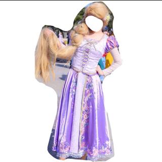 ディズニー(Disney)のラプンツェル 衣装 ウィッグ(衣装一式)
