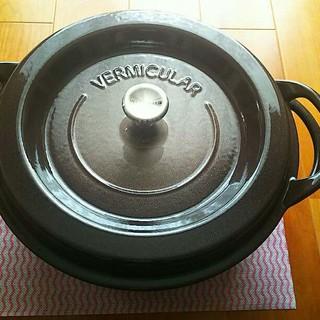 バーミキュラ(Vermicular)のバーミキュラ #26 オーブンポットラウンド  新品未開封 (炊飯器)