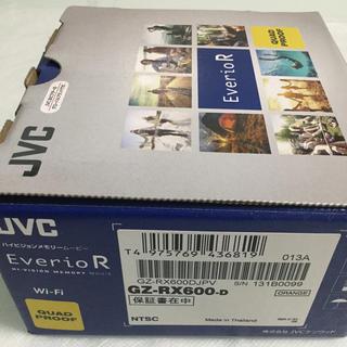 ビクター(Victor)のJVC GZ-RX600-D デジタルビデオカメラ(新品)(コンパクトデジタルカメラ)