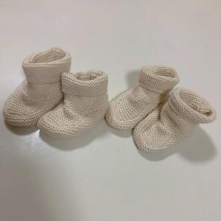 ベビーギャップ(babyGAP)のbaby gap  ニットブーツ 2個セット(ブーツ)