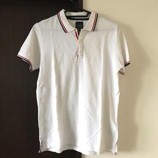 ザラ(ZARA)のZARA / ザラ トリコロール ポロシャツ【L】トムブラウン(ポロシャツ)