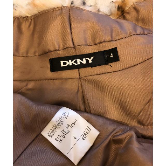 DKNY WOMEN(ダナキャランニューヨークウィメン)の美品 DKNY ケープ スヌード ストール ティペット マフラー 豹 ヒョウ レディースのファッション小物(マフラー/ショール)の商品写真