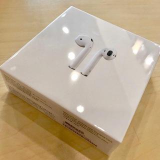 アップル(Apple)のApple Air pods 純正 正規品 新品未開封(ヘッドフォン/イヤフォン)