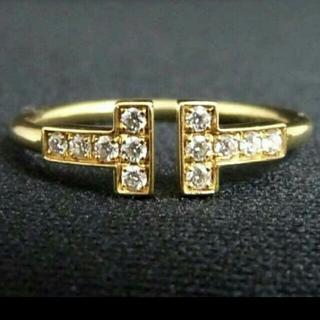 ティファニー(Tiffany & Co.)の正規品ティファニー 18k Tワイヤーリング(リング(指輪))