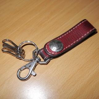 ケイシイズ(KC,s)のケーシーズ 中古 本革 ベルトループ  鍵フック   5セント キーリング(キーホルダー)