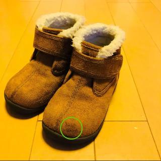 ムジルシリョウヒン(MUJI (無印良品))の無印良品 ムートンブーツ 14㎝(ブーツ)