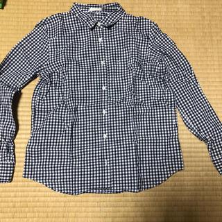 ジーユー(GU)のギンガムチェックシャツ(シャツ/ブラウス(長袖/七分))