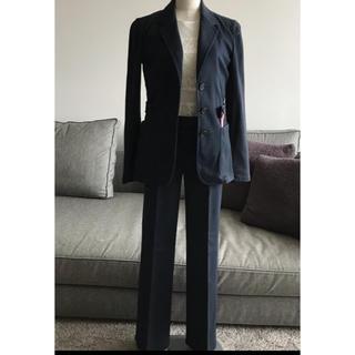 プラダ(PRADA)のPRADA プラダ ジャケット パンツ スーツ ネイビー 38 セットアップ(スーツ)