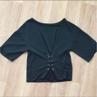 ジーユー(GU)のgu コルセット Tシャツ(Tシャツ(半袖/袖なし))